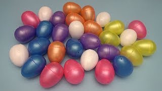 Learning Greater Than Less Than and Equal To with Surprise Eggs!  Lesson 9