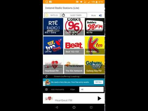Irish Radio - Ireland Radio Stations