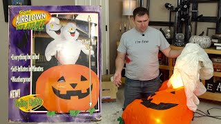 I bought a 16 year old Gemmy Airblown Halloween Inflatable.  Will it stand the test of time?!