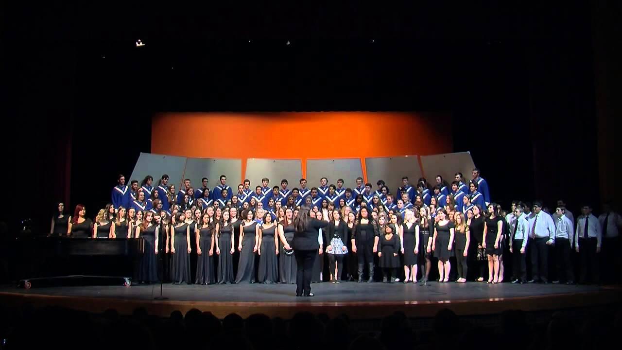 Hilliard Davidson Choirs 2015 Quot True Light Quot Youtube