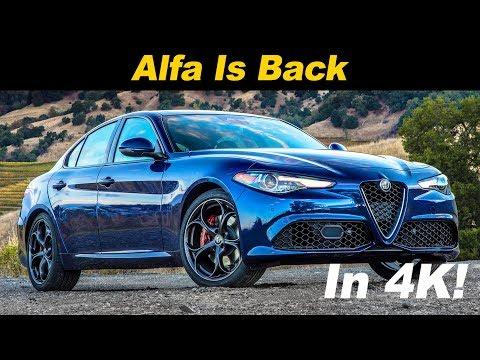2018 Alfa Romeo Giulia Review and Road Test In 4K UHD!