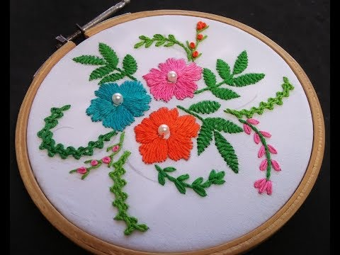 Hand Embroidery - Romanian Stitch