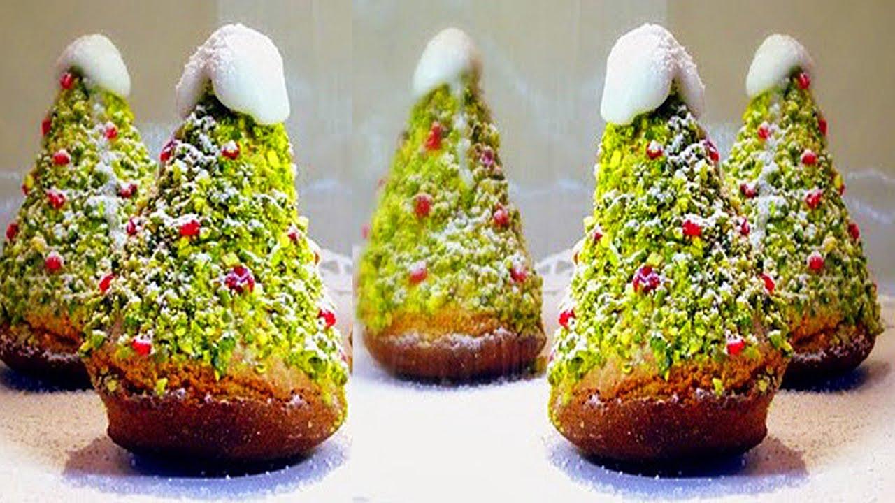 пирожное новогоднее фото рецепт