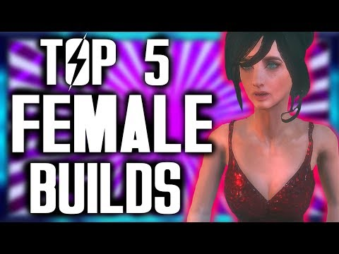 Fallout 4  Top 5 Female Builds