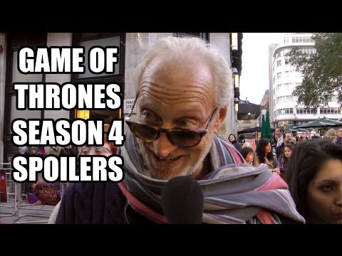 Game of Thrones Season 4 Spoilers - Tywin, Joffrey, Hodor, Arya, Loras, Barristan & Syrio