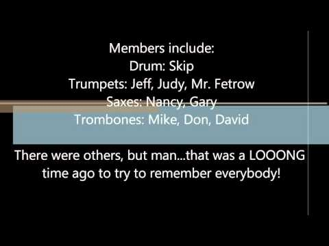 Zane Trace High School Stage Band 1972