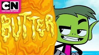 The Earth is a Pancake | Teen Titans GO! | Cartoon Network