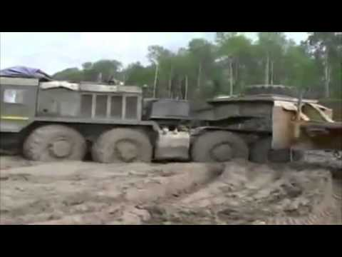 Siberia Roads Compilation. Truck drivers in Russia.