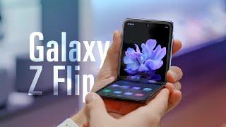 Первый обзор Galaxy Z Flip —раскладушка!