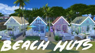 The Sims 4 | Beach Huts- Speed Build