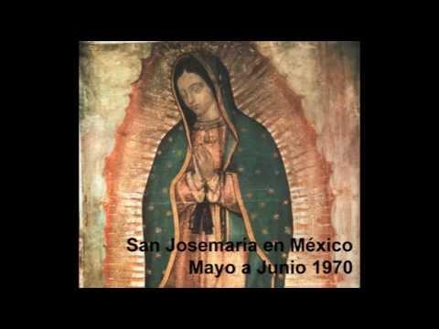 Saint Josemaria Escriva in Mexico // San Josemaría en México