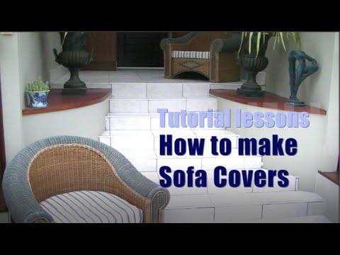 How to make Sofa Cushion Covers