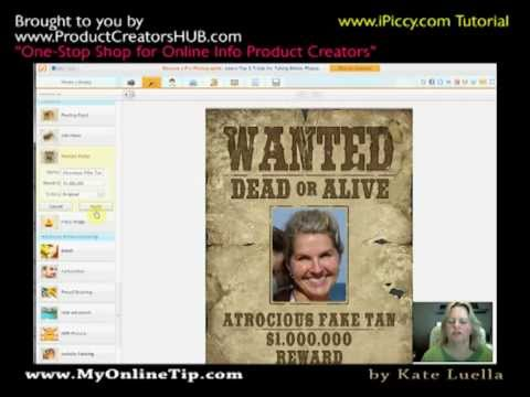 How To Create Your Own FREE   Create A Wanted Poster Free
