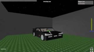 Nissan Skyline Roblox Car Ad.