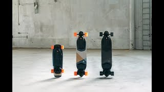 Gambar cover NEW BOOSTED BOARDS! STEALTH, PLUS, MINI!