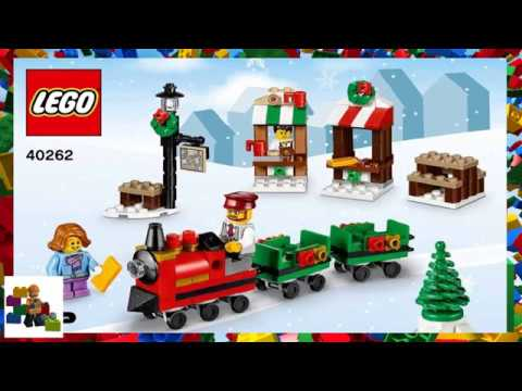 Lego Instructions Seasonal 40262 Christmas Train Ride Youtube