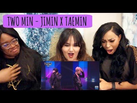 TWO MIN - JIMIN (BTS) X TAEMIN (SHINEE) KBS PERFORMANCE REACTION || TIPSY KPOP REACTION