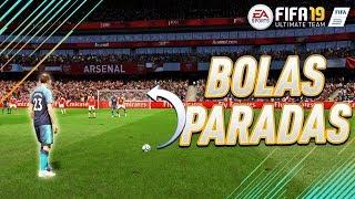 FIFA19: TUTORIAL BOLAS PARADAS 1# COMO MARCAR GOLOS E DEFENDER!