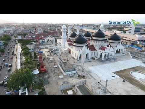 Mengintip Proyek Masjid Raya Baiturrahman Banda Aceh