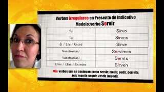Aula Espanhol - Verbos Irregulares I en Presente   +Español