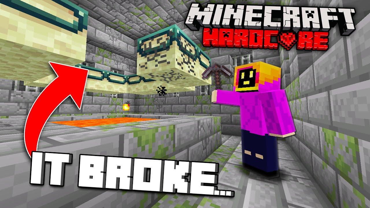 I Broke The End Portal In Minecraft Hardcore... Again