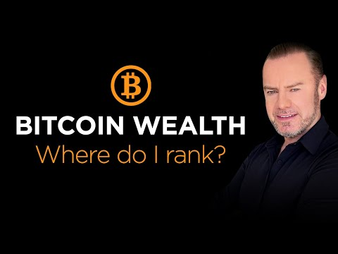 Bitcoin Wealth: Where you rank! A detailed study on who has the coins and percentile wealth
