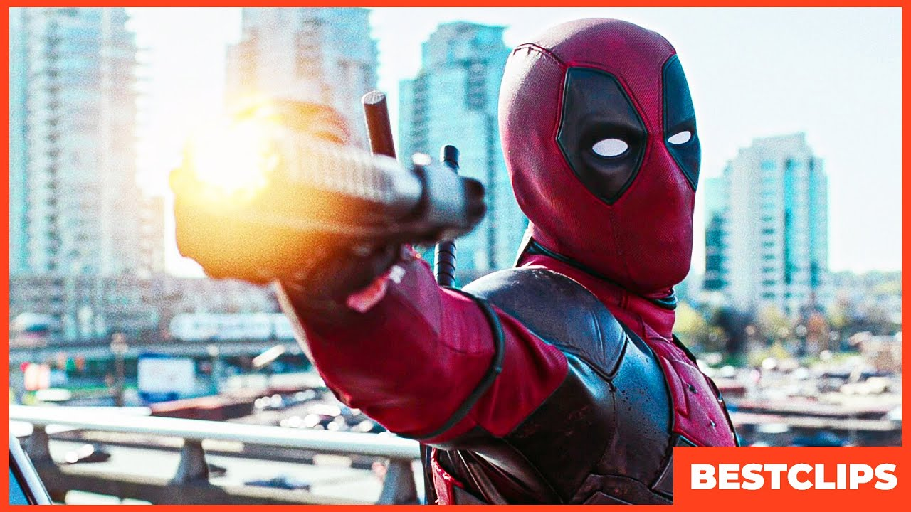 Deadpool Bullet Countdown Scene | Deadpool (2016) Movie CLIP 4K