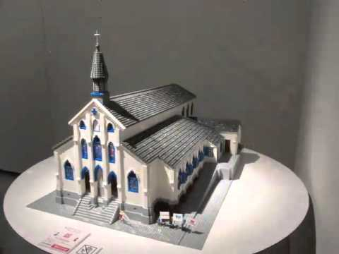 The Making Of Lego Oura Cathedral Youtube