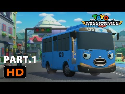 Movie For Kids L The Tayo Movie L Mission Ace L Special Clip Part 1 L Tayo The Little Bus