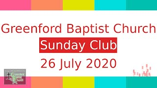 Sunday Club - 26 July 2020