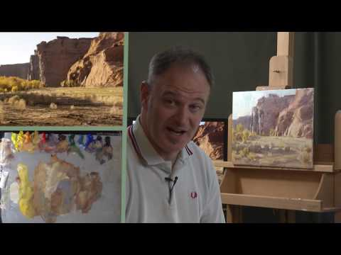 """Bloopers from """"Painting the Desert Light"""" with Mitch Baird"""