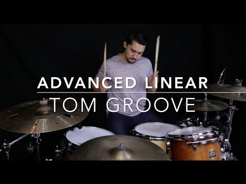 Advanced Linear Tom Groove - Drum Lesson with Eric Fisher