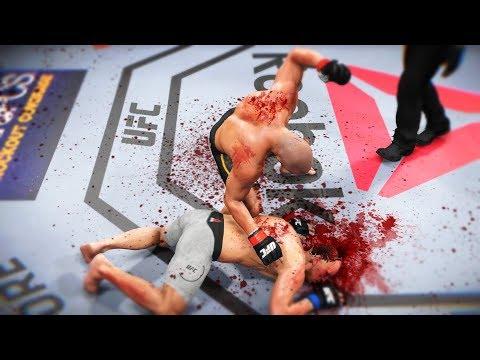 НЕ НА ТОГО НАРВАЛИСЬ и БЫЛИ.....РАНДОМНЫЙ РАНКЕД в UFC 3 ЛУЧШИЕ НОКАУТЫ ТОП 10