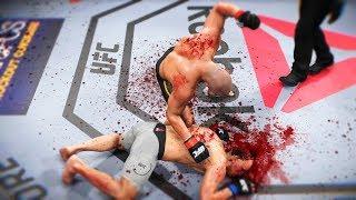 НЕ НА ТОГО НАРВАЛИСЬ и БЫЛИ ЗАБИТЫ...РАНДОМНЫЙ РАНКЕД в UFC 3 ЛУЧШИЕ НОКАУТЫ ТОП 10
