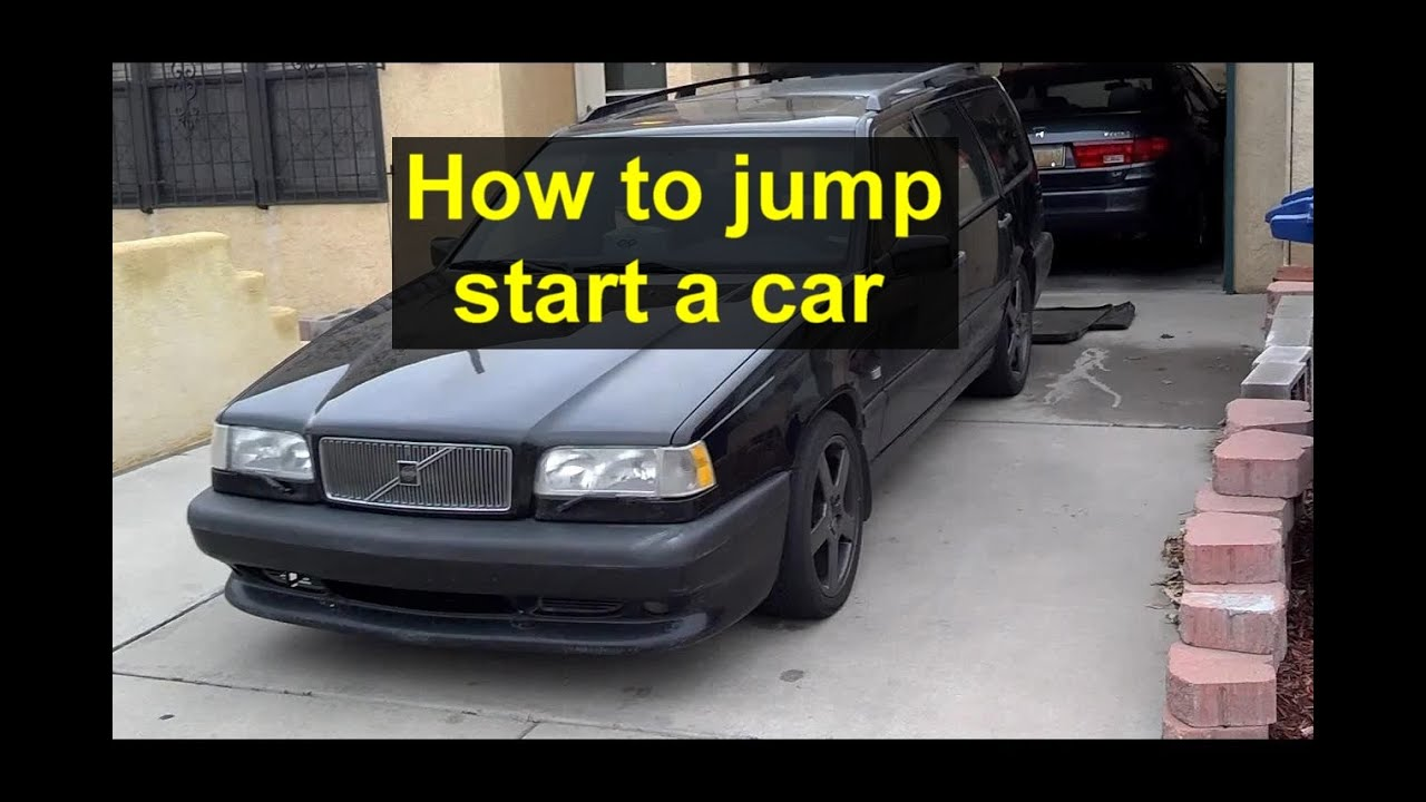 How To Jump A Car Battery Properly