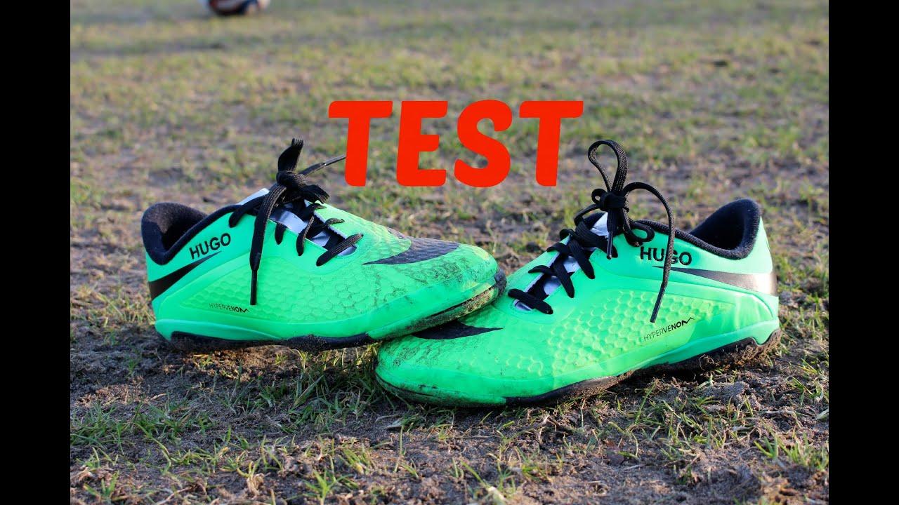 bc5eaea81f51 hugovoetbal- neymar jr boots test nike hypervenom neo lime black indoor test