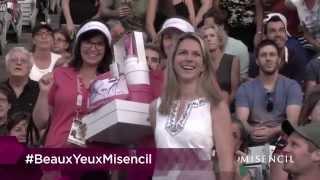 Les Beaux Yeux Misencil - Coupe Rogers 2014 - Montreal