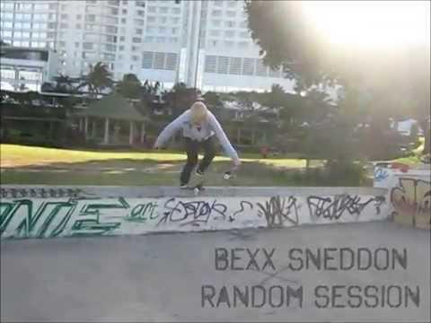 Girl Skateboarder - Bexx Sneddon