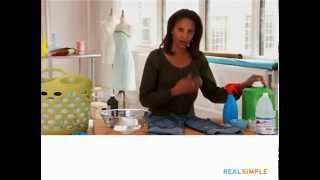Real Simple How To: Remove Blood Stains