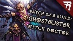 Diablo 3 2.6.8 Witch Doctor Build: Spirit Barrage Mundunugu GR 148+ (Season 20 Guide)