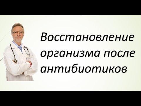 Восстановление организма после антибиотиков