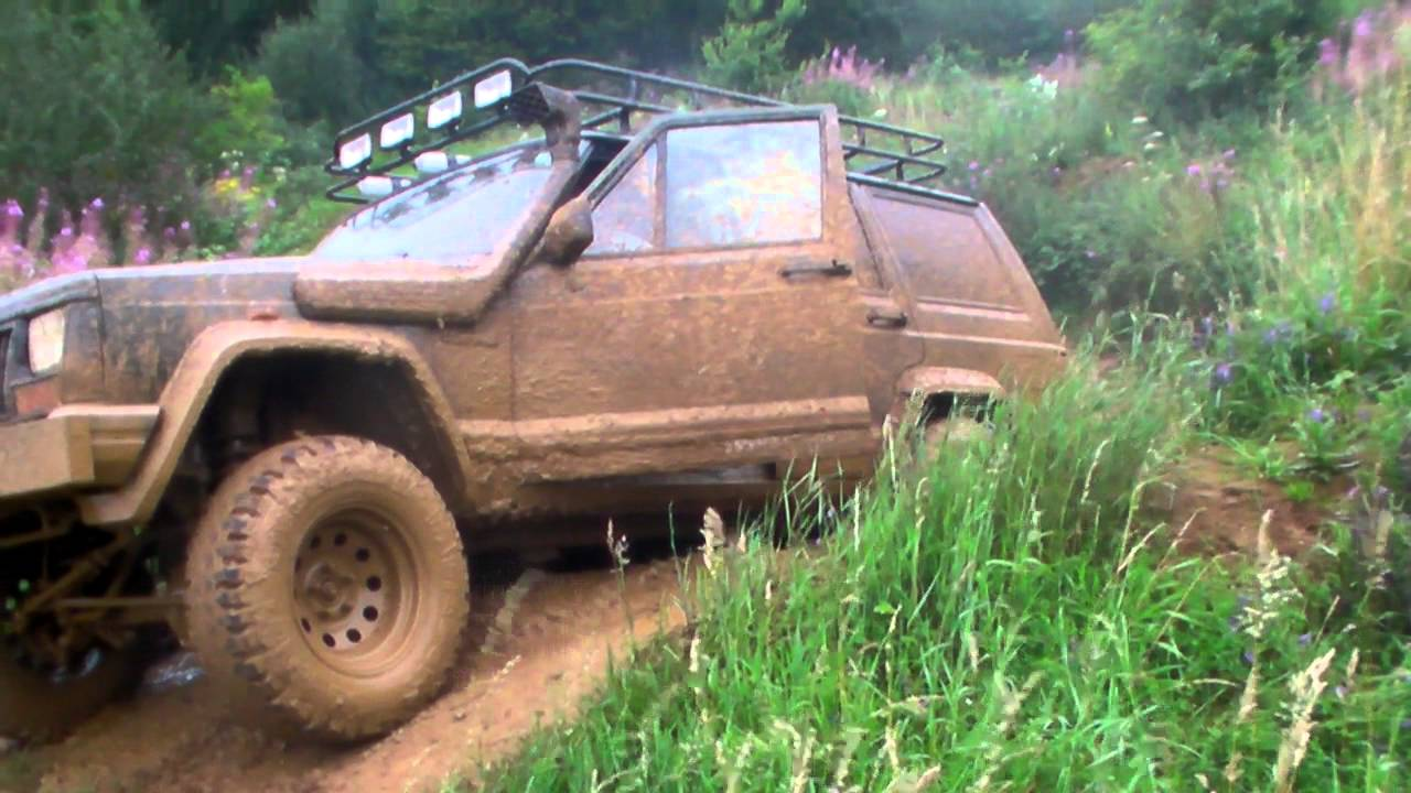 Jeep Cherokee Xj 2 5 Td Vm Youtube