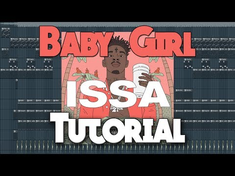 How To Make 21 Savage Baby Girl Beat (Issa Album)
