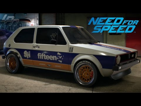NEED FOR SPEED (2015) – VW GOLF MK1 GTI GAMEPLAY (TUNING, CRUISING,  DRIFTING, RACES)