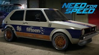 NEED FOR SPEED (2015) - VW GOLF MK1 GTI GAMEPLAY (TUNING, CRUISING,  DRIFTING, RACES)