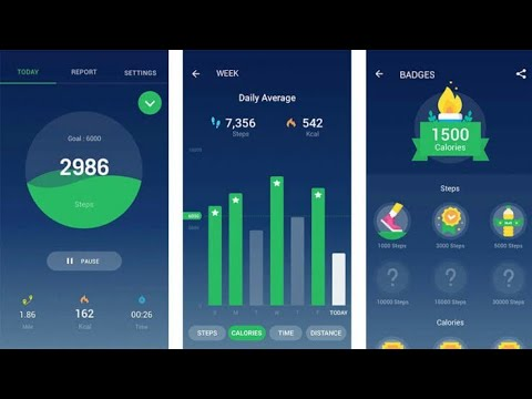 Step tracker, free pedometer & map tracker to count steps and calories Apps Review