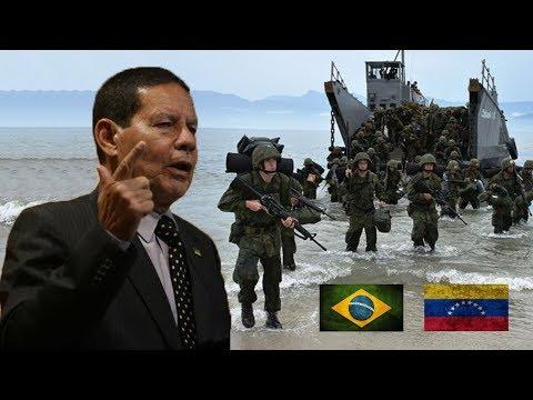E se o Brasil Invadir a Venezuela ?