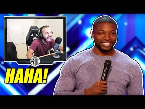 HAMLINZ REACTS TO COMEDIAN PREACHER LAWSON AUDITION! *FUNNY*