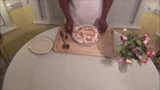 No Bake Peach Pie Recipe