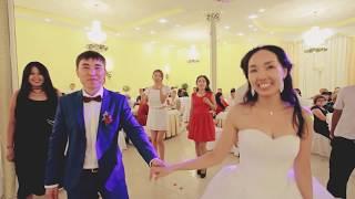 Калмыцкая свадьба! Адьян Убушаев зажигает! Огонь ! Чи ма хоир!